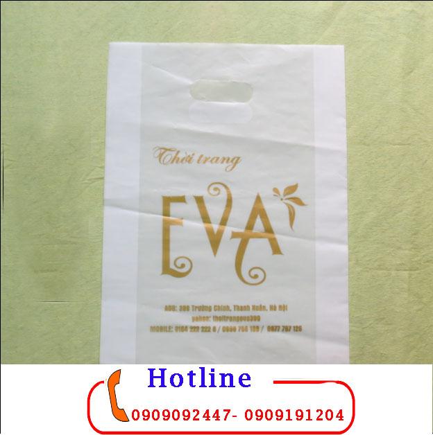 Nhận in theo mẫu các loại túi xốp thời trang với giá rẻ