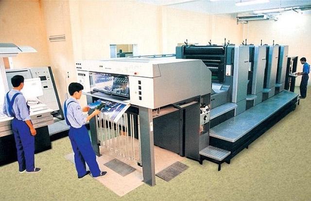 Máy in và công nghệ in kỹ thuật số