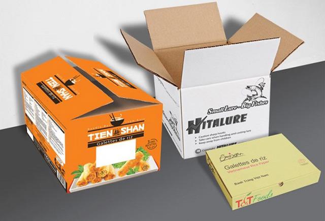 Nguyên liệu giấy Carton dùng để in bao bì